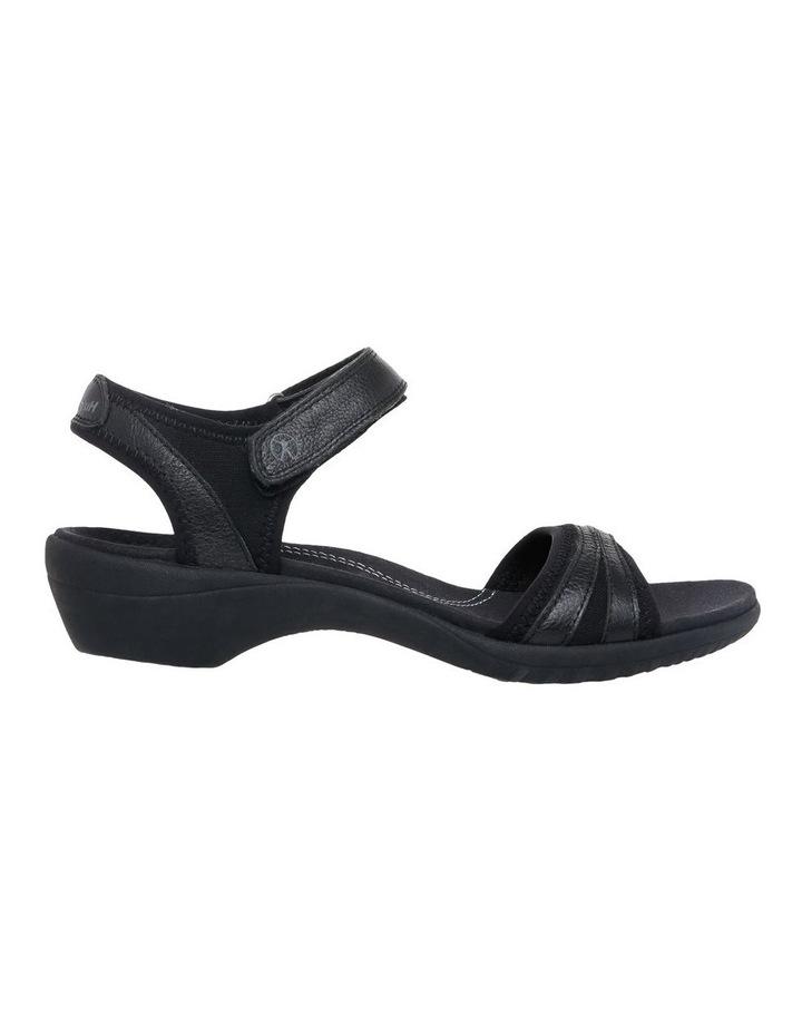 Athos Black Sandal image 1
