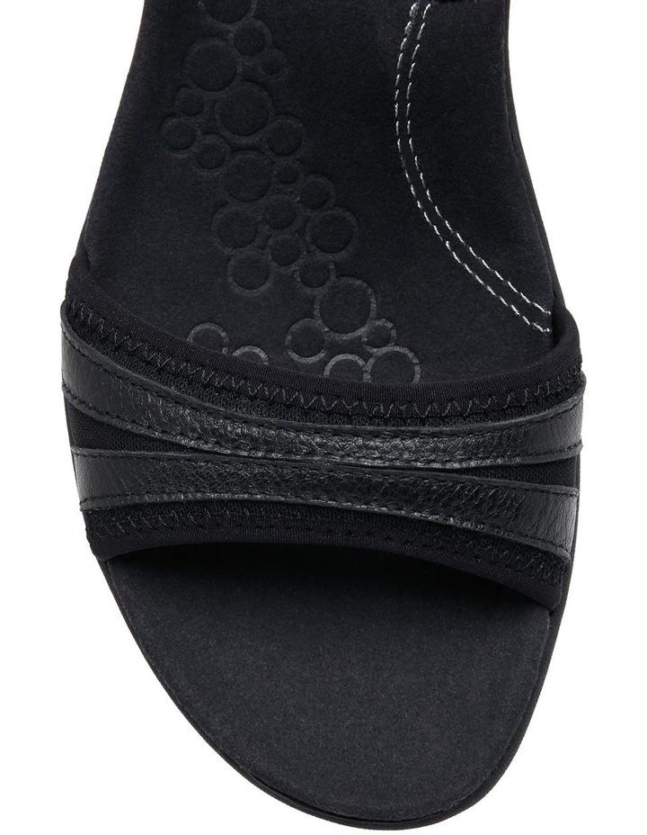 Athos Black Sandal image 3