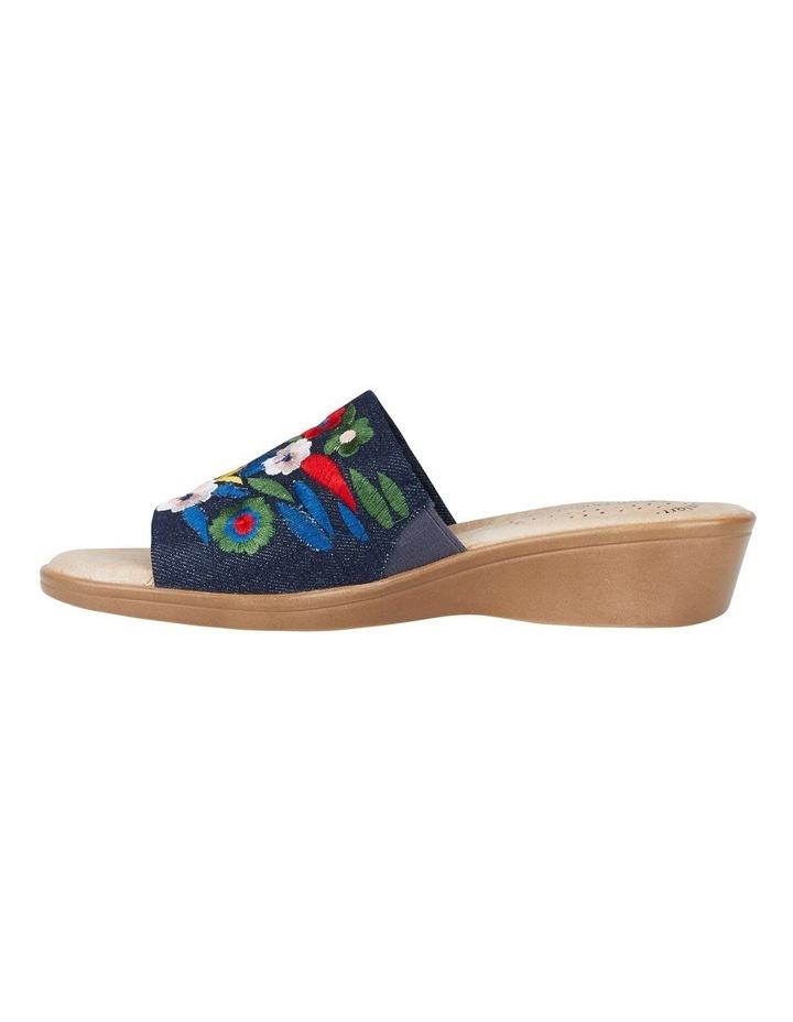 Coco Denim Embroidery Sandal image 5