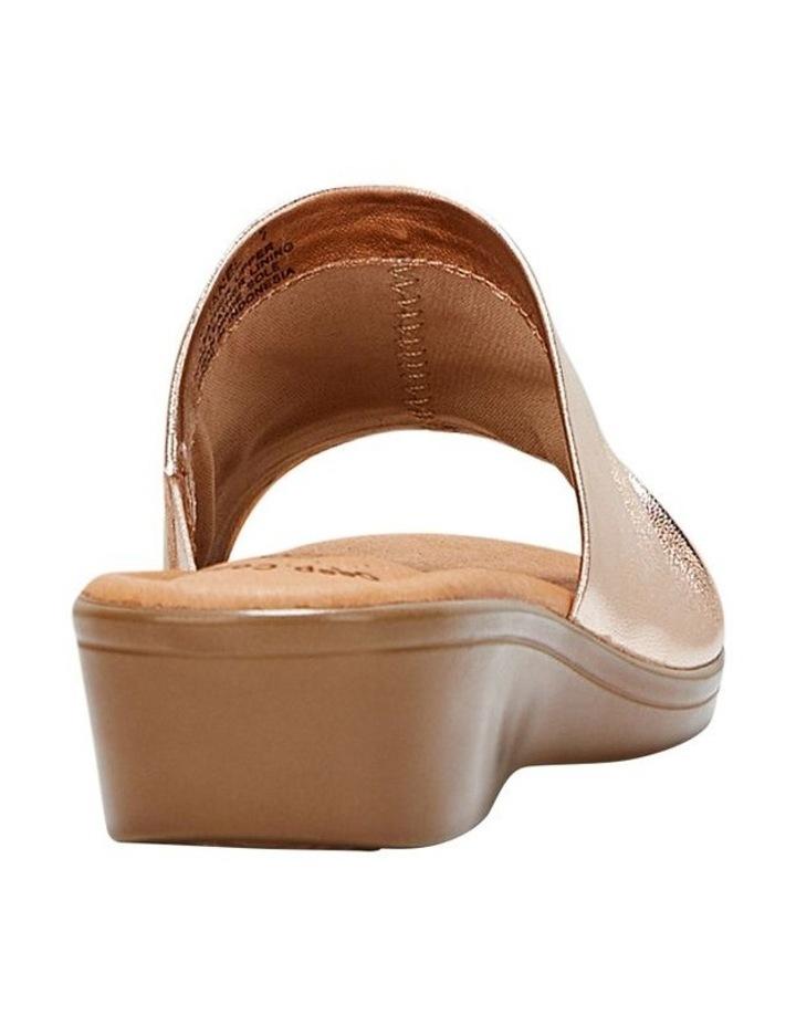 Chanel Gold Sandal image 2