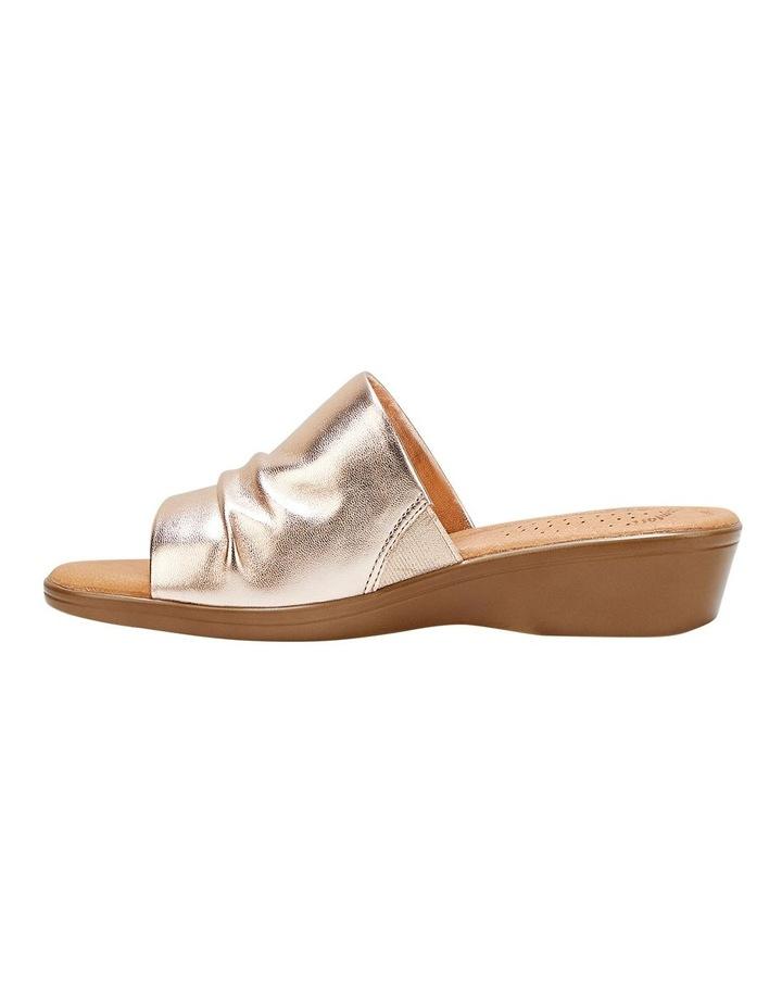 Chanel Gold Sandal image 3