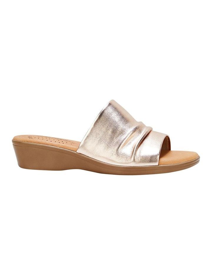 Chanel Gold Sandal image 4
