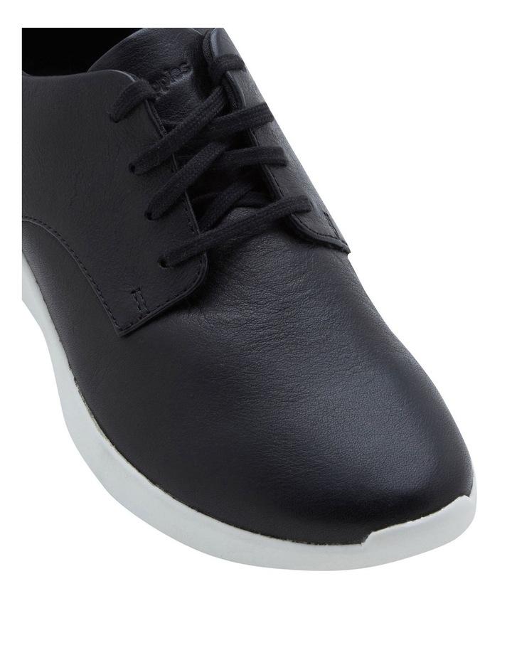 Modern Work Lace Up Black Sneaker image 2