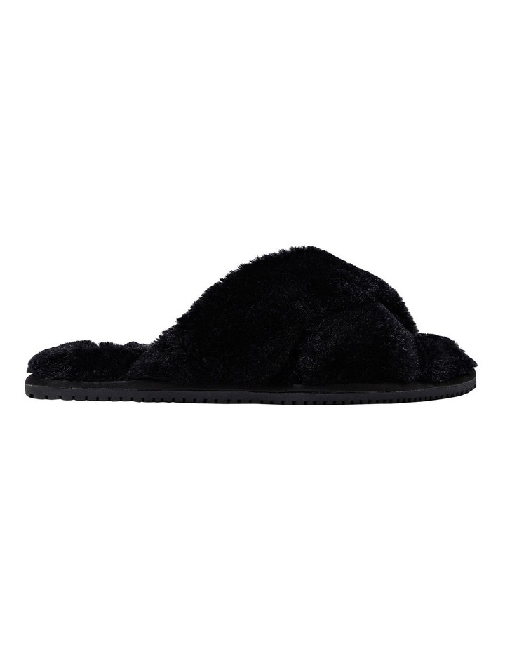 Poodle Black Slipper image 1