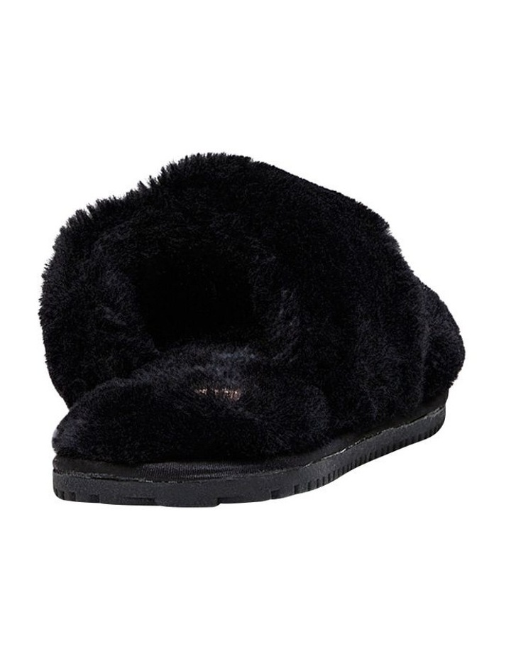 Poodle Black Slipper image 2