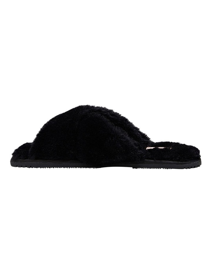 Poodle Black Slipper image 3