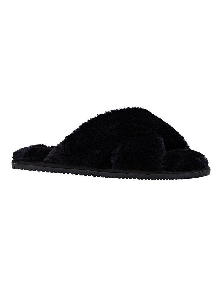 Poodle Black Slipper image 4