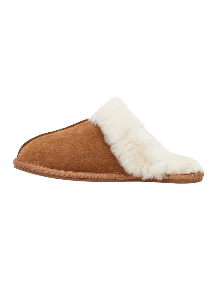 Cushy Chestnut Suede Slipper image 3