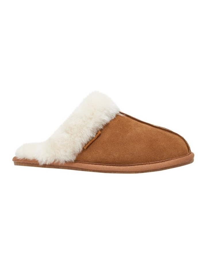 Cushy Chestnut Suede Slipper image 5