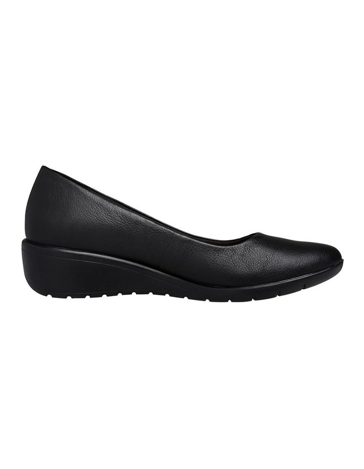 Dylan Black Leather Pump image 1