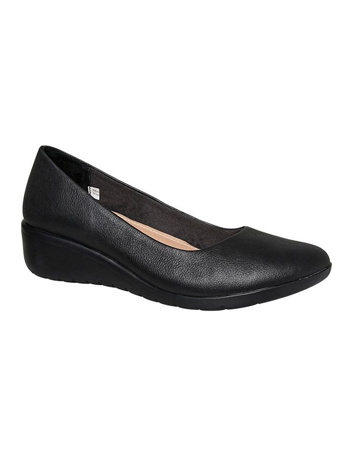Dylan Black Leather Pump image 3