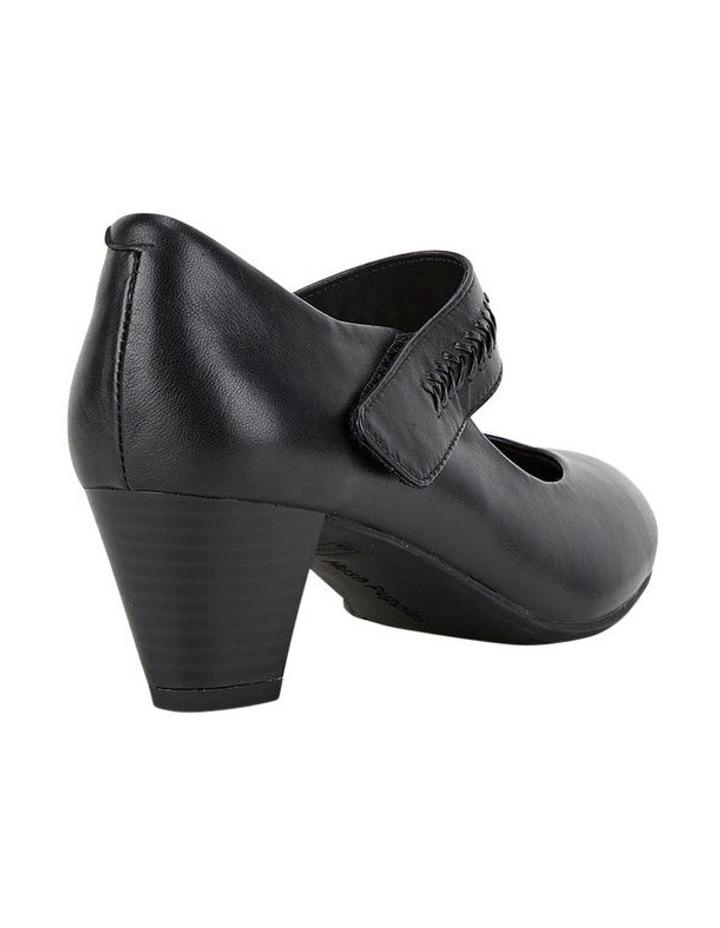 Cadence Black Heeled Shoes image 2