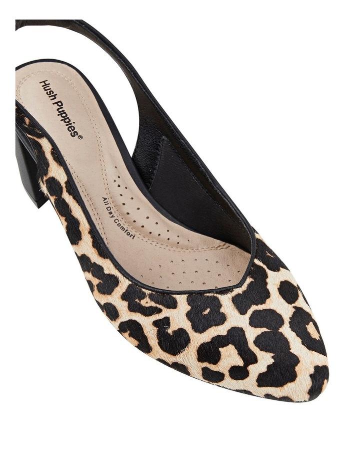 Josette Leopard Heeled Shoes image 4