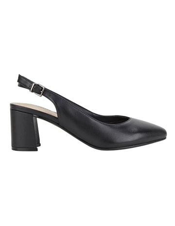 6818b1d94b89 Hush Puppies Josette Bkack Heeled Shoes