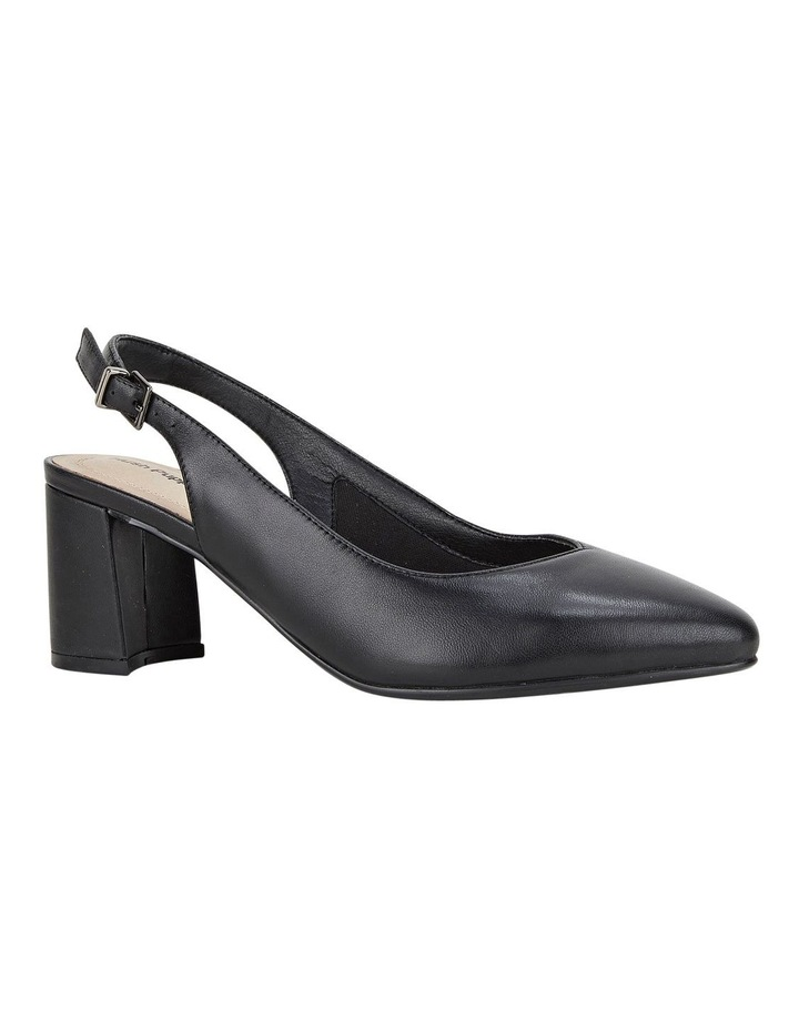 Josette Bkack Heeled Shoes image 3