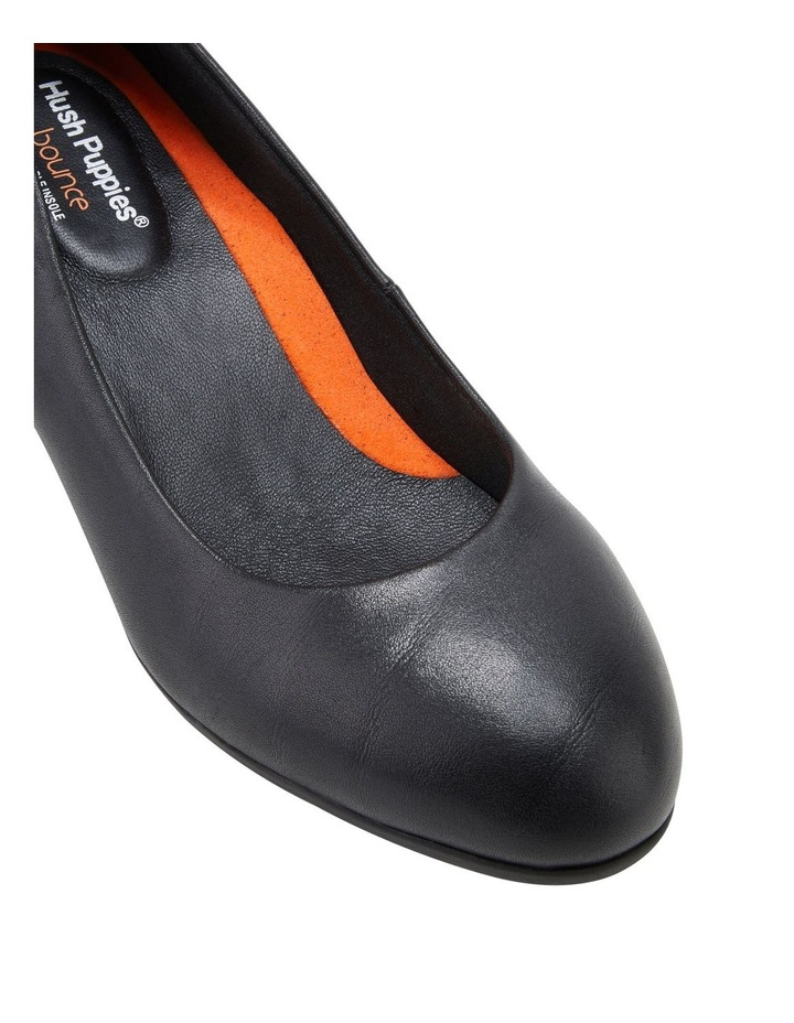 The Block Heel Black Heeled Shoe image 4