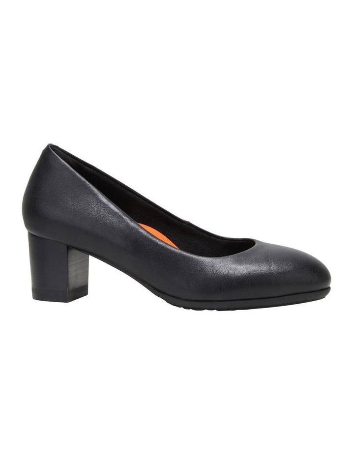 The Block Heel Black Heeled Shoe image 5