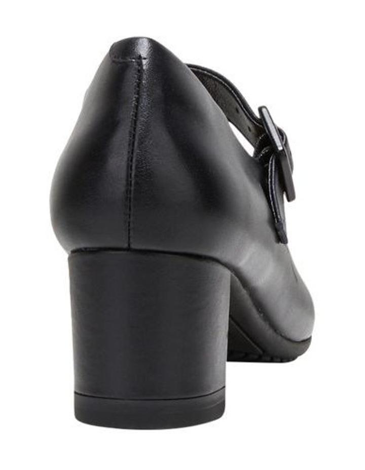 The Mary Jane Black Heeled Shoe image 2