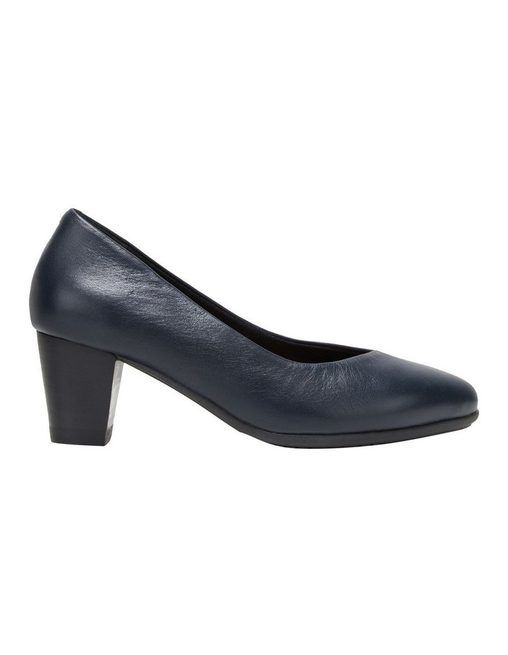 The Point Navy Heeled Shoe image 1