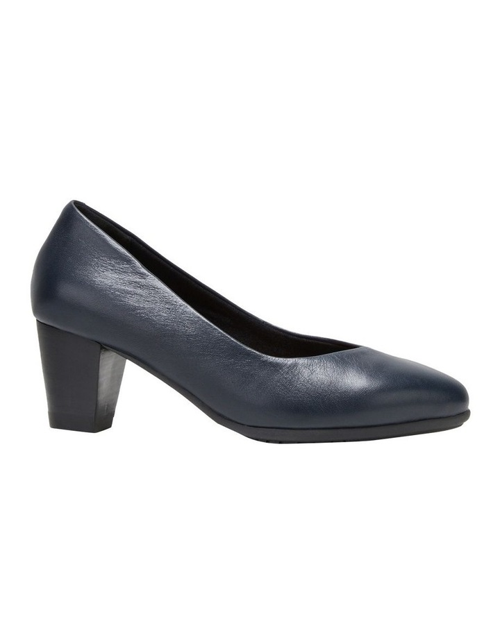The Point Navy Heeled Shoe image 5
