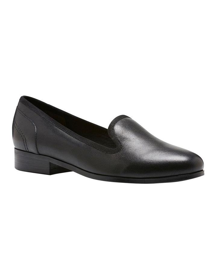 Fantastic Black Leather Loafer image 3