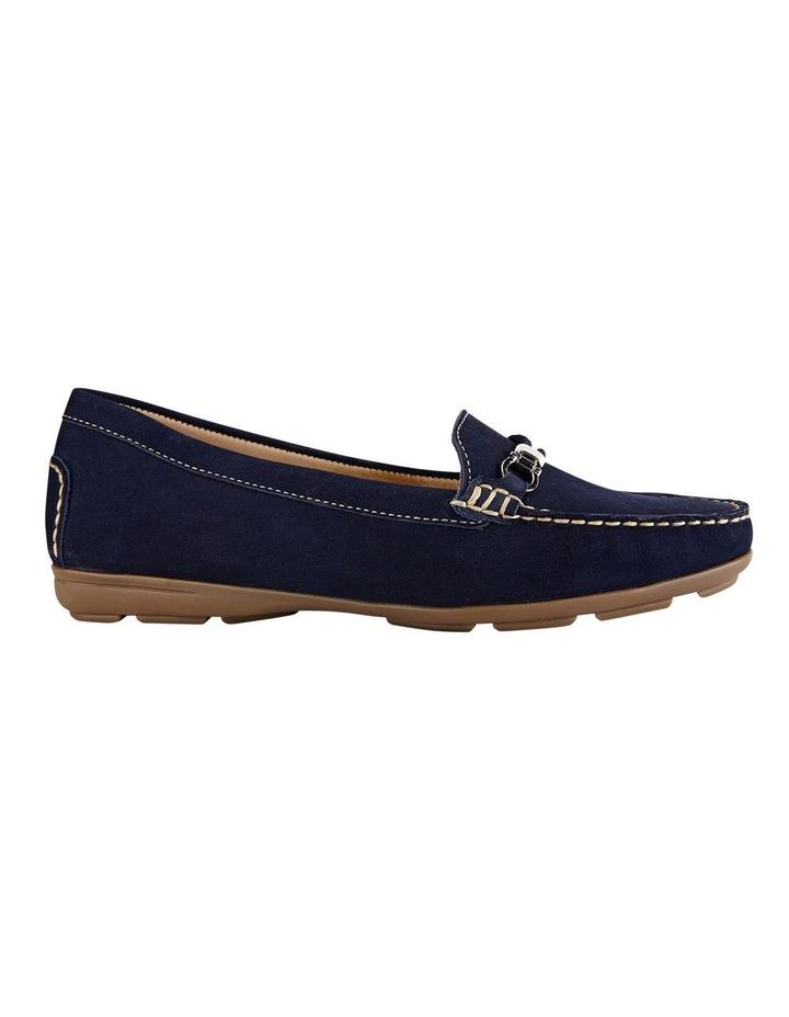 Renita Navy Nubuck Loafer image 1