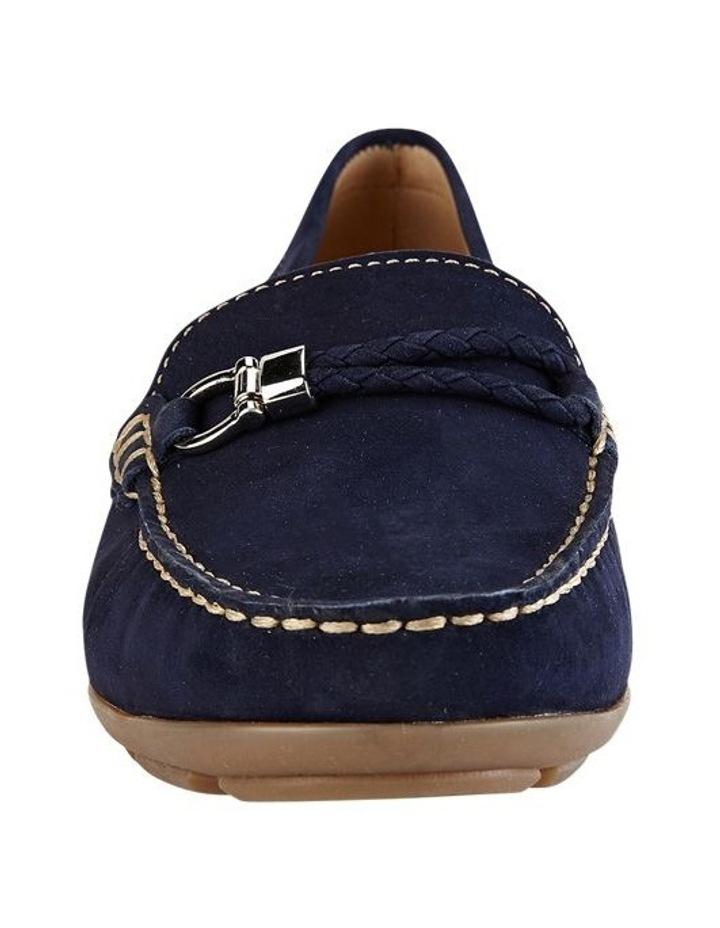 Renita Navy Nubuck Loafer image 3