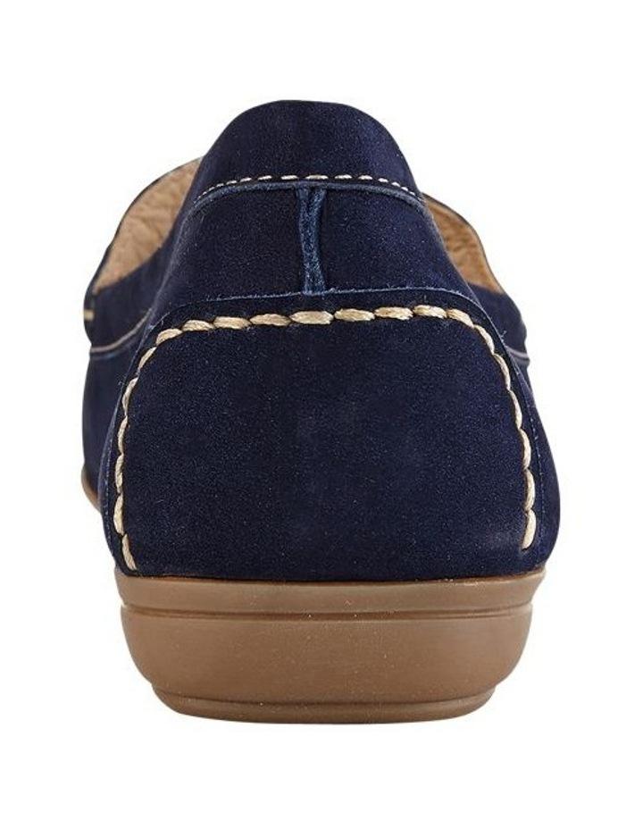 Renita Navy Nubuck Loafer image 5