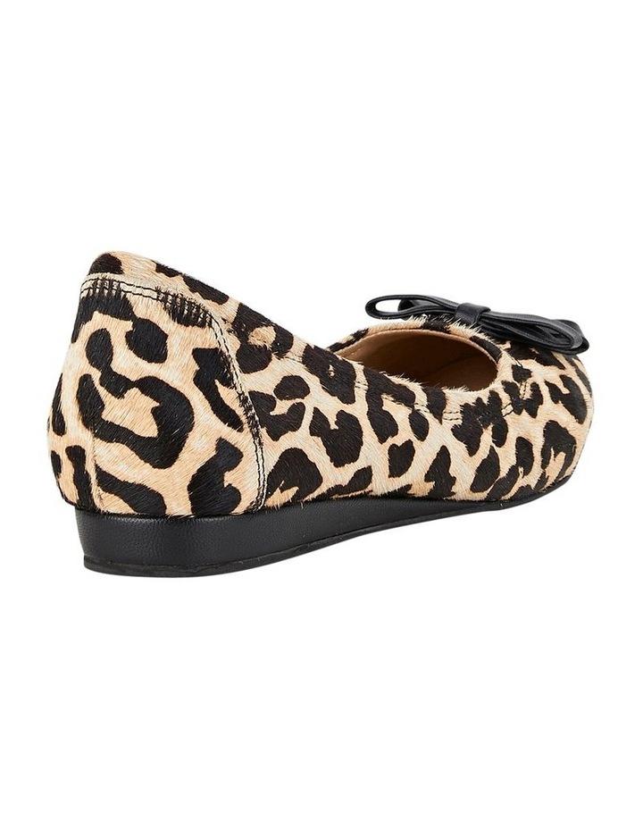 Bowie Leopard Flat Shoes image 2