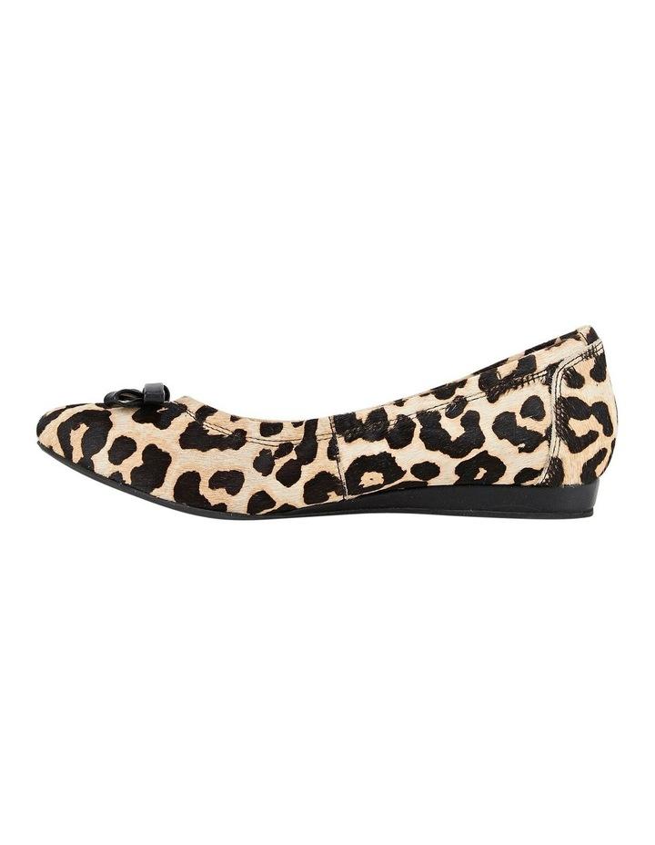 Bowie Leopard Flat Shoes image 3