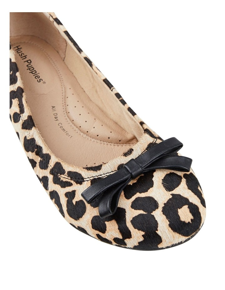 Bowie Leopard Flat Shoes image 4