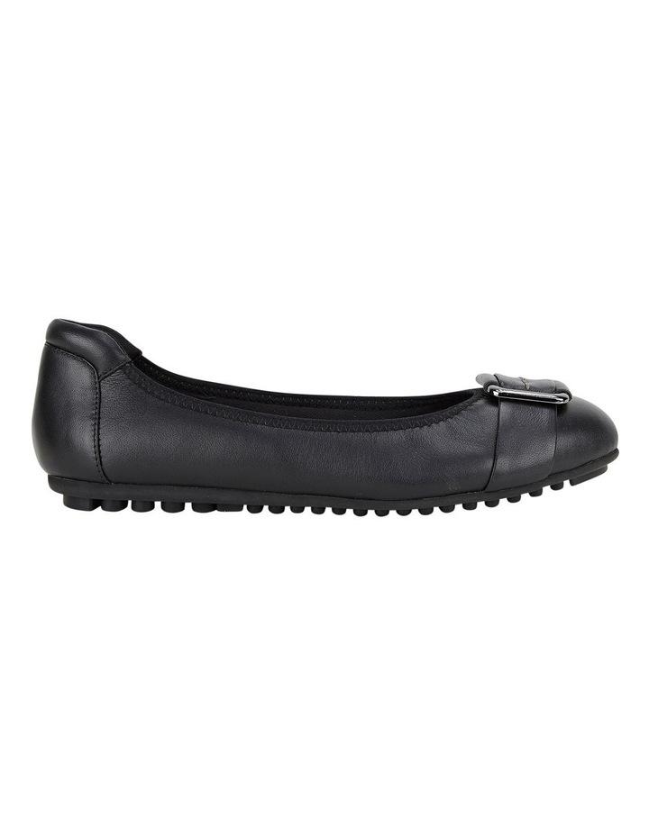 Loren Black Flat Shoes image 1