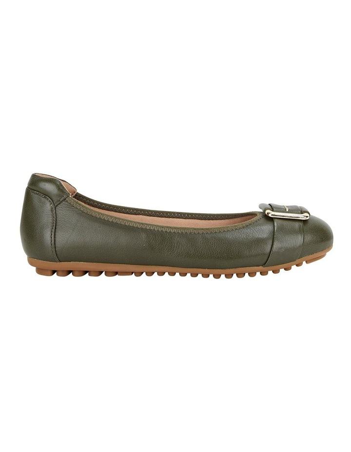 Loren Flat Olive Shoes image 1
