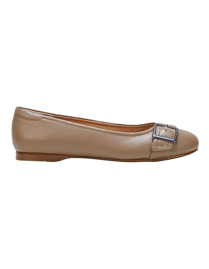 Wairo Taupe Flat Shoe image 1