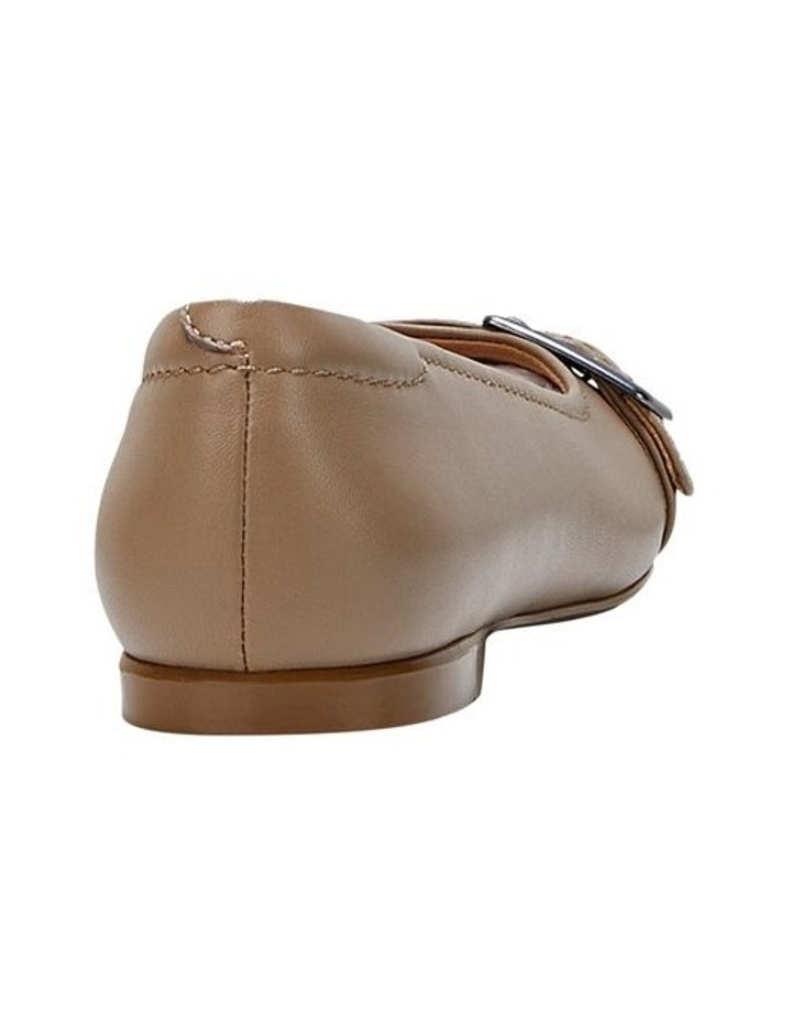 Wairo Taupe Flat Shoe image 2