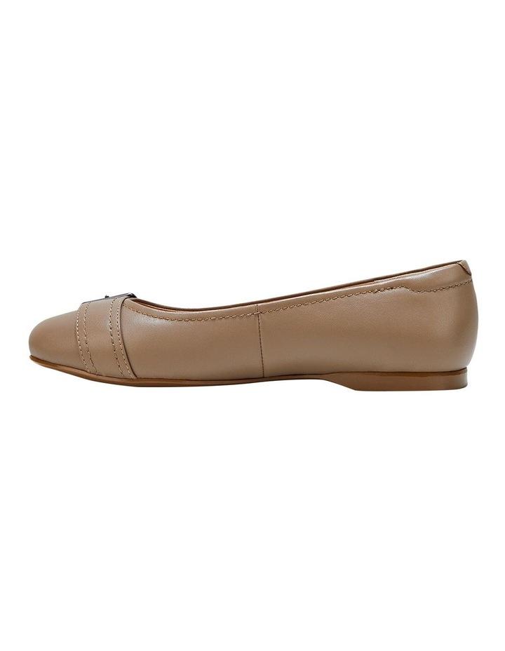 Wairo Taupe Flat Shoe image 3