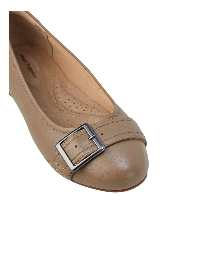 Wairo Taupe Flat Shoe image 4