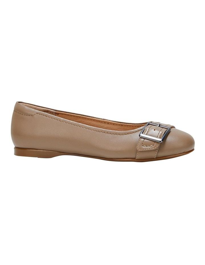 Wairo Taupe Flat Shoe image 5