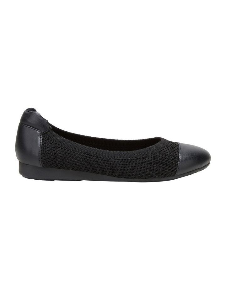 Dance Black Flat Shoe image 1