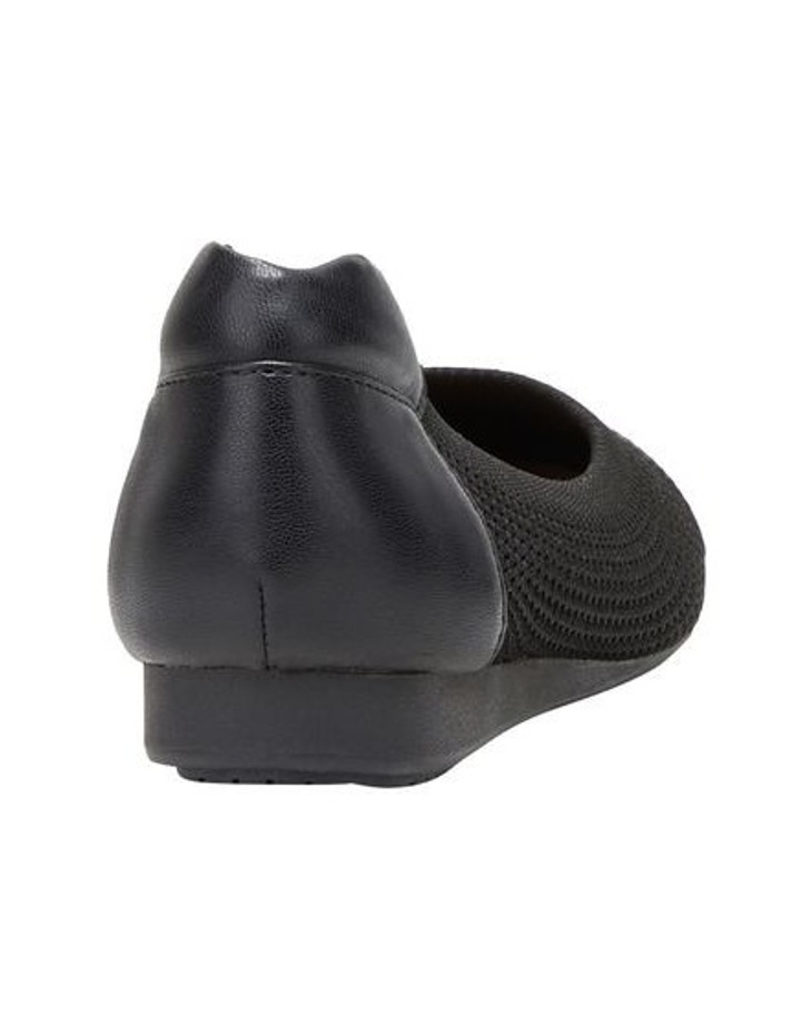 Dance Black Flat Shoe image 2