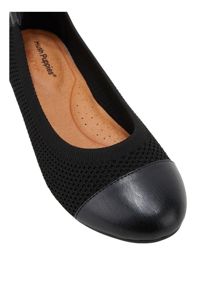 Dance Black Flat Shoe image 4