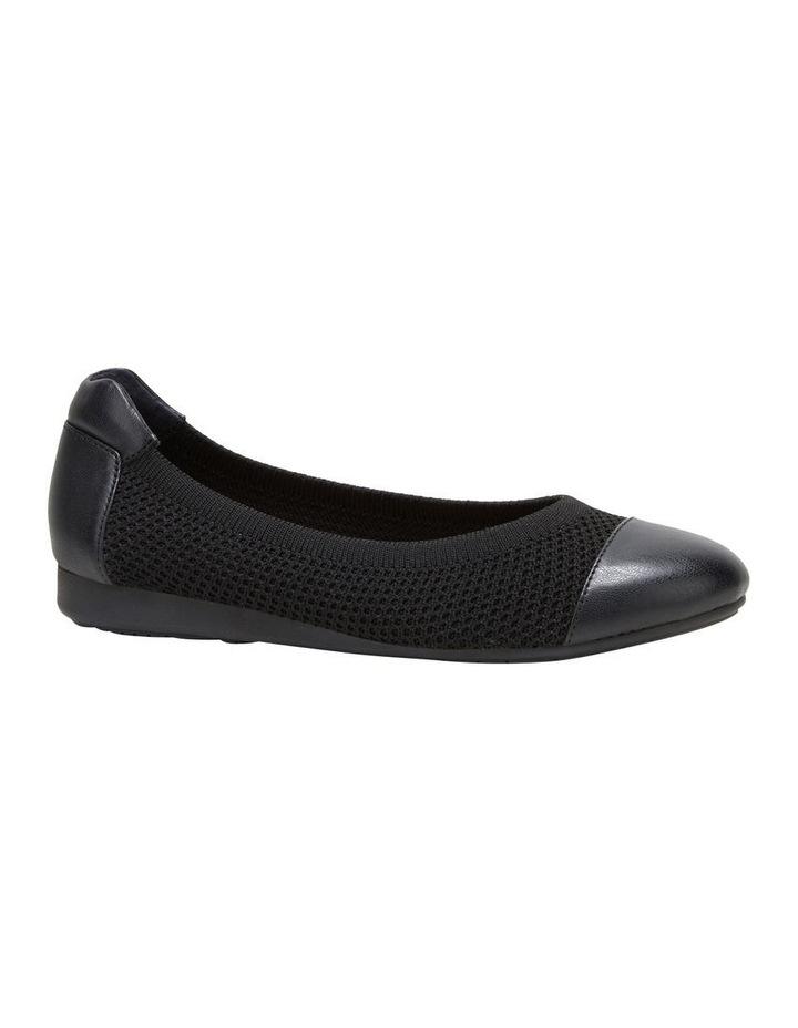 Dance Black Flat Shoe image 5
