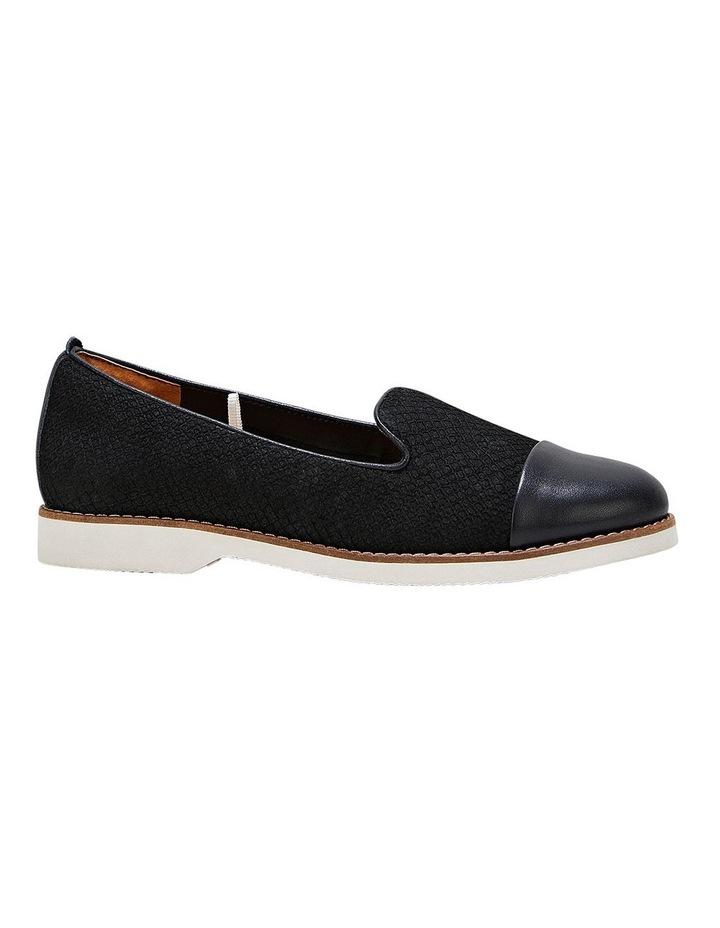 Demi Black Snake Flat Shoe image 5
