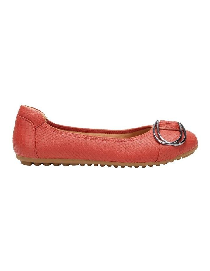 Laina Rust Snake Flat Shoe image 1