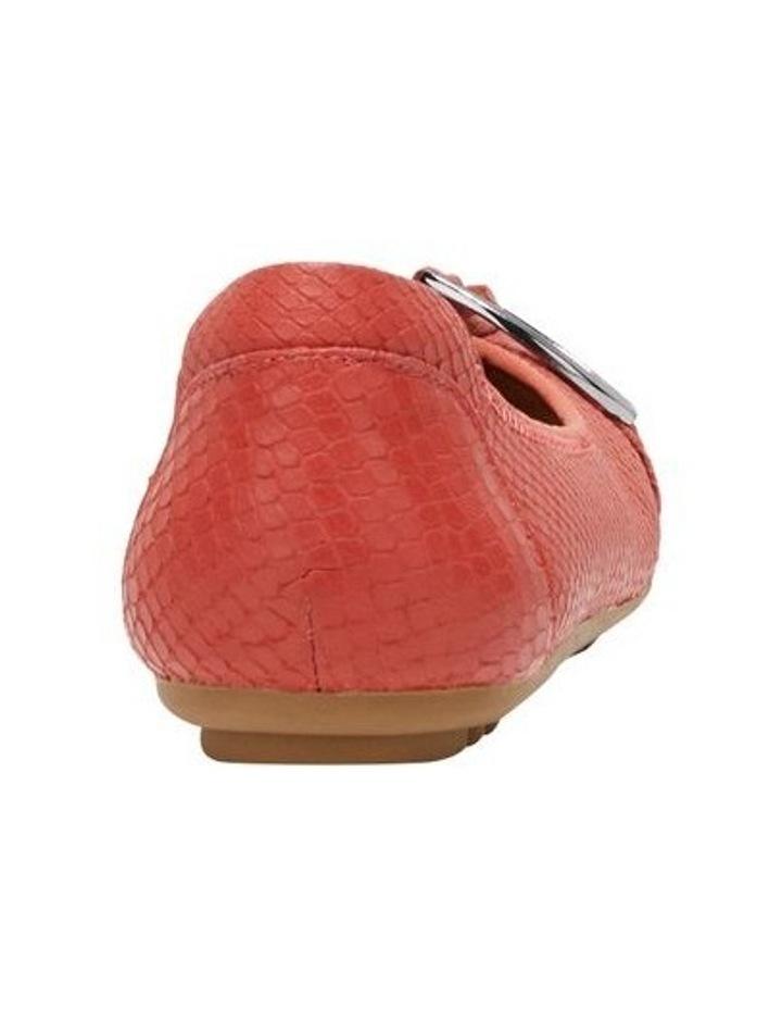 Laina Rust Snake Flat Shoe image 2