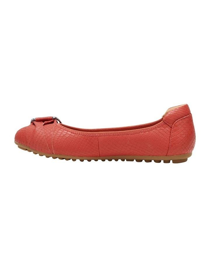 Laina Rust Snake Flat Shoe image 3