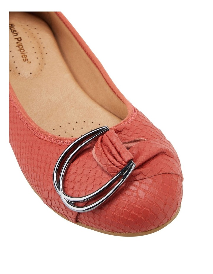 Laina Rust Snake Flat Shoe image 4