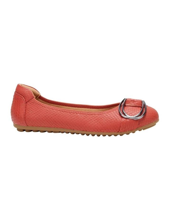 Laina Rust Snake Flat Shoe image 5