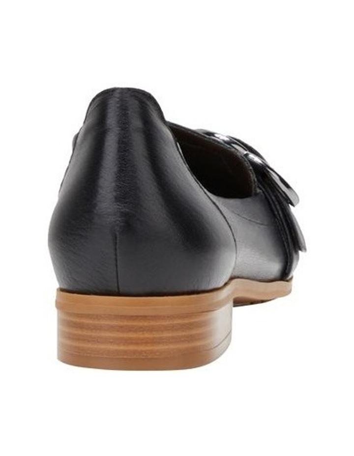 Luxe Black Flat Shoe image 2