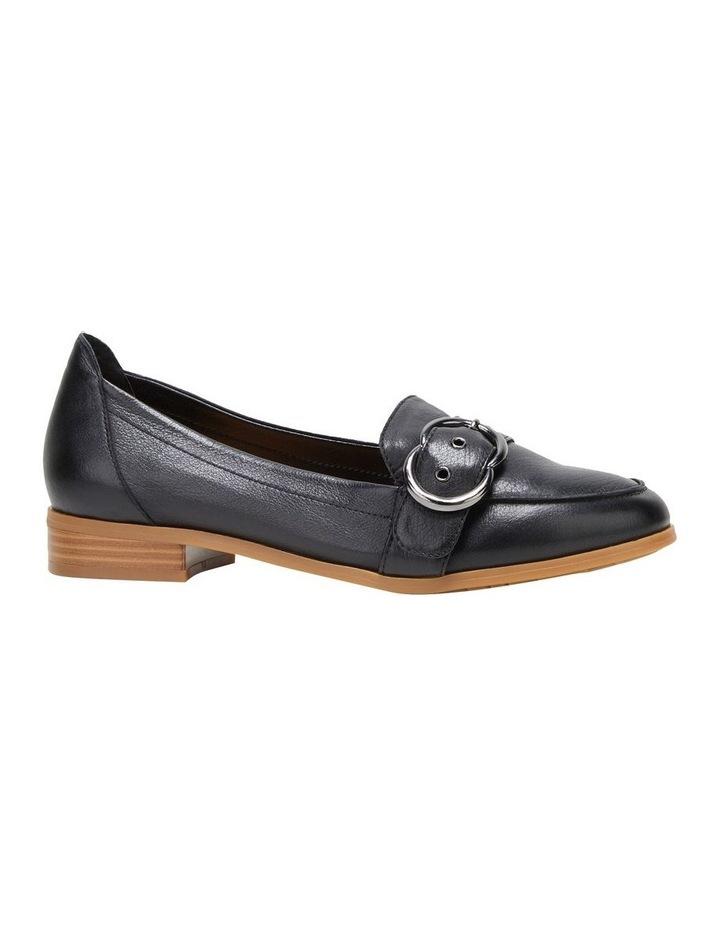 Luxe Black Flat Shoe image 5